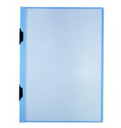 Klemmhefter DURACLIP Plus 2218-06, A3, für ca. 60 Blatt, Kunststoff, blau