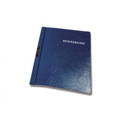 Bewerbungsmappe 2244 mit Clip A4 bis 30 Blatt dunkelblau