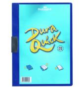 Klemmhefter Duraquick A4 dunkelblau für 20 Blatt