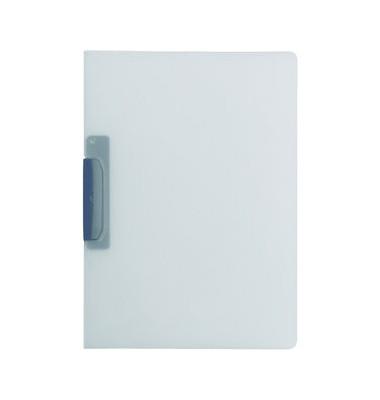 Klemmhefter DURASWING 2290-37, A4, für ca. 30 Blatt, Kunststoff, grau