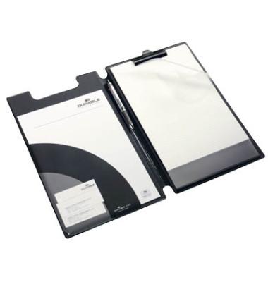 Klemmbrettmappe 2332-01 A4+ schwarz 241x370mm Kunststoff