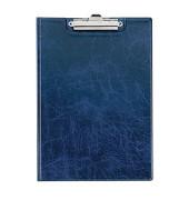 Schreibplatte A4 mit Einstecktasche blau