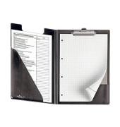 Schreibplatte A4 mit Einstecktasche schwarz