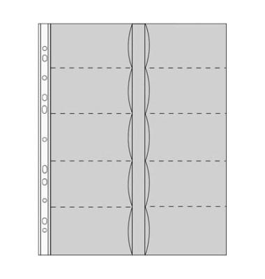 Durable Visitenkartenhüllen A4 Transparent Für 20 Karten 10