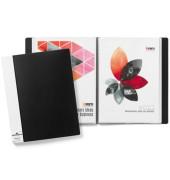 Sichtbuch mit 50 Hüllen schwarz A4