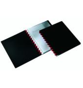 Sichtbuch Duralook Easy 2426-01 schwarz A4 PP mit 20 Hüllen