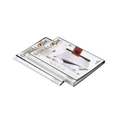 Sichtbuch Duralook Plus 2431-01 schwarz A4 PP mit 10 Hüllen