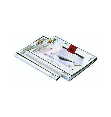 Sichtbuch mit 40 Sichthüllen schwarz DURALOOK