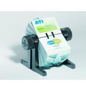 Rollkartei Visifix Cubo schwarz für 300 Karten Kunststoff