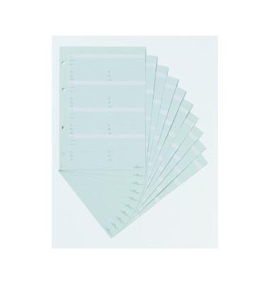 Erweiterungssatz f.TELINDEX A5 f.Telef. ringbuch2377 10 St