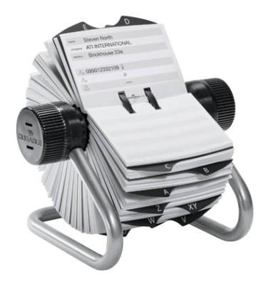 TELINDEX Rollkartei silber