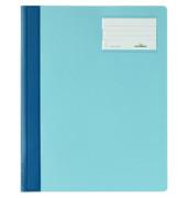 Schnellhefter 2500 A4+ überbreit hellblau PVC Kunststoff kaufmännische Heftung