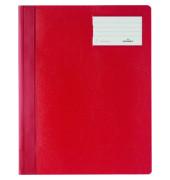 Schnellhefter 2500 A4+ überbreit rot PVC Kusntstoff kaufmännische Heftung