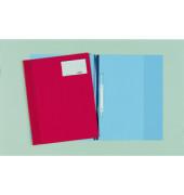 Schnellhefter 2510 A4+ überbreit rot Kunststoff kaufmännische Heftung bis 100 Blatt