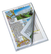 Schnellhefter A4 Weichfolie farblos transparent kaufmännische Heftung
