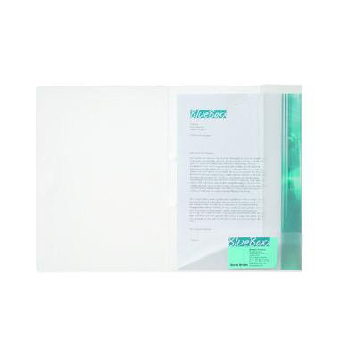 Angebotsmappe Multifile A4 transp. 2 Innenkl. PP-Folie