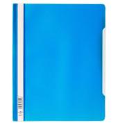 Schnellhefter 2570 A4+ überbreit blau PVC Kunststoff kaufmännische Heftung