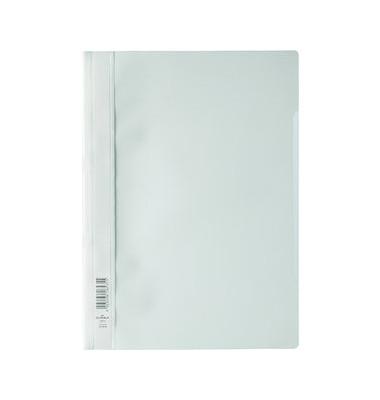 Schnellhefter 2573 A4 weiß PP Kunststoff kaufmännische Heftung