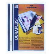 Schnellhefter Duraplus A4+ überbreit grau PVC Kunststoff kaufmännische Heftung bis 200 Blatt