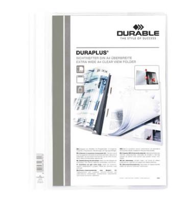 Schnellhefter Duraplus A4+ überbreit weiß PVC Kunststoff kaufmännische Heftung bis 200 Blatt