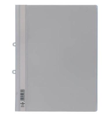 Schnellhefter 2580 A4+ überbreit weiß PVC Kunststoff kaufmännische Heftung bis 200 Blatt mit Abheftlochung