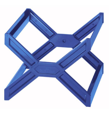 Hängemappenbox Carry Plus leer blau 362x320x260mm für 30 Mappen stapelbar