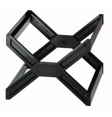 Hängemappenkorb Carry Plus 2611 schwarz bis 30 Mappen leer stapelbar