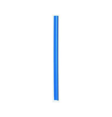 Klemmschienen 13mm Schenkellänge blau A4 Füllhöhe 3mm 100 Stück