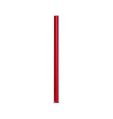 Klemmschienen 13mm Schenkellänge rot A4 Füllhöhe 3mm 100 Stück
