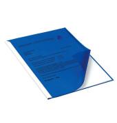 Klemmschienenhülle Weichfolie blau A4 f.100 Bl.