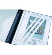 Abdeckschienen für  Heftmechanik weiß A4 50 Stück