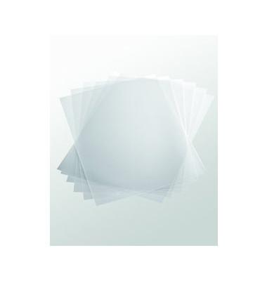 Klemmschienenhüllen A4 transparent für 100 Blatt PP 10 Stück