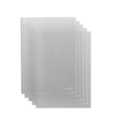 Klemmschienenhülle A4 PP bis 100 Blatt farblos