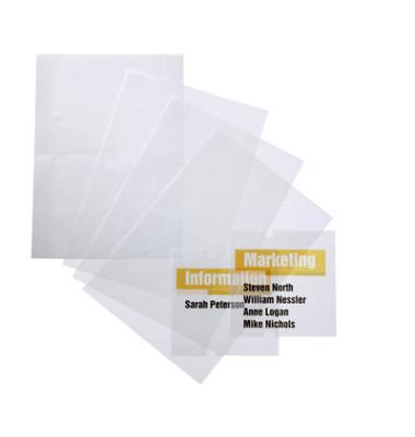 Ersatzfolie für Türschild 4821 farblos 148x105mm 10 Stück