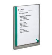 Türschild CLICK SIGN graphit A4 21,0 x 29,7 cm (BxH)