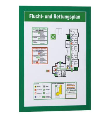 Magaframe A4 magnet.sk grün 322x236mm 2 St
