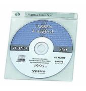 CD/DVD-Hüllen TopCover für CD/DVD transparent PP-Folie 10 Stück