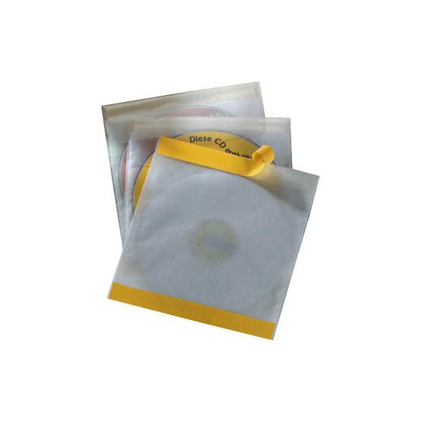 durable cd dvd h llen fix f r 1 cd dvd transparent mit verschlussklappe selbstklebend pp 10 st ck. Black Bedroom Furniture Sets. Home Design Ideas