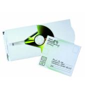 Versandkarton für 1 CD/DVD weiß Karton 5 Stück