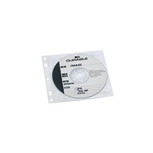 durable cd dvd h llen coverfile f r 1 cd dvd transparent zum abheften pp 10 st ck. Black Bedroom Furniture Sets. Home Design Ideas