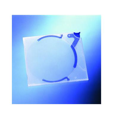 CD/DVD-Hüllen QuickflipStandard für 1 CD/DVD blau/matt 5 Stück