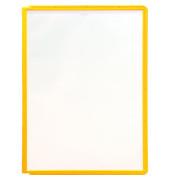 Sichttafel SHERPA A4 gelber Rahmen