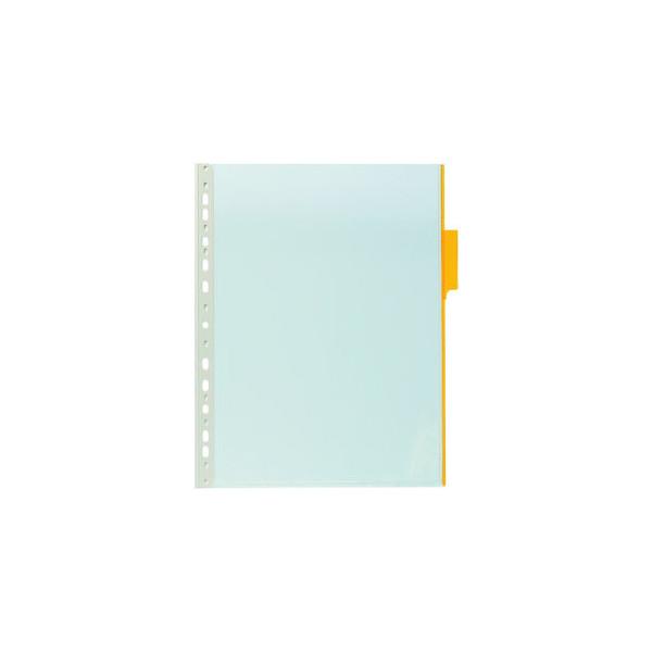 Durable Sichttafel Function A4 Tabe Gelb Mit Universallochung