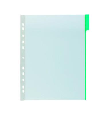 Sichttafel FUNCTION A4 Tabe grün mit Universallochung