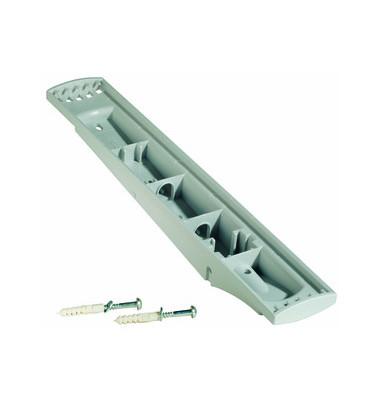 Sichttafelwandhalter SHERPA für A4 5 Tafeln leer grau
