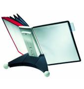 Sichttafelständer SHERPA TABLE 10 A4 sortiert mit 10 Tafeln/Reiter