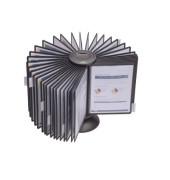 Sichttafelständer SHERPA CAROUSEL 40 A4 schwarz mit 40 Tafeln
