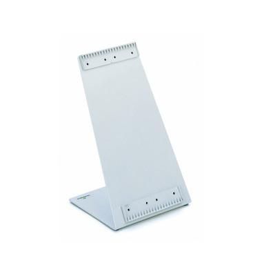 Sichttafelständer FUNCTION für A4 20 Tafeln leer grau