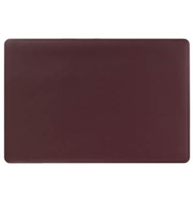 Schreibunterlage m.Dekorrille rot 65x52cm