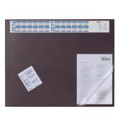 Schreibunterlage 65 x 52cm mit Sichtfolie rot